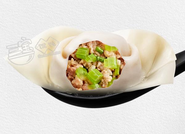 三宝芹菜鲜肉馄饨