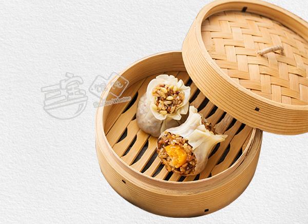 三宝蛋黄糯米烧麦