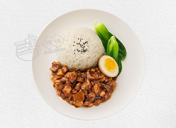 三宝台式卤肉饭
